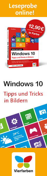 Windows 10 Tipps und Tricks in Bilder
