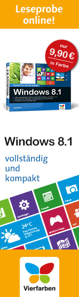 Windows 8.1 Schritt f�r Schritt erkl�rt