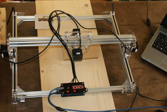 DIY Violet Lasergravierer
